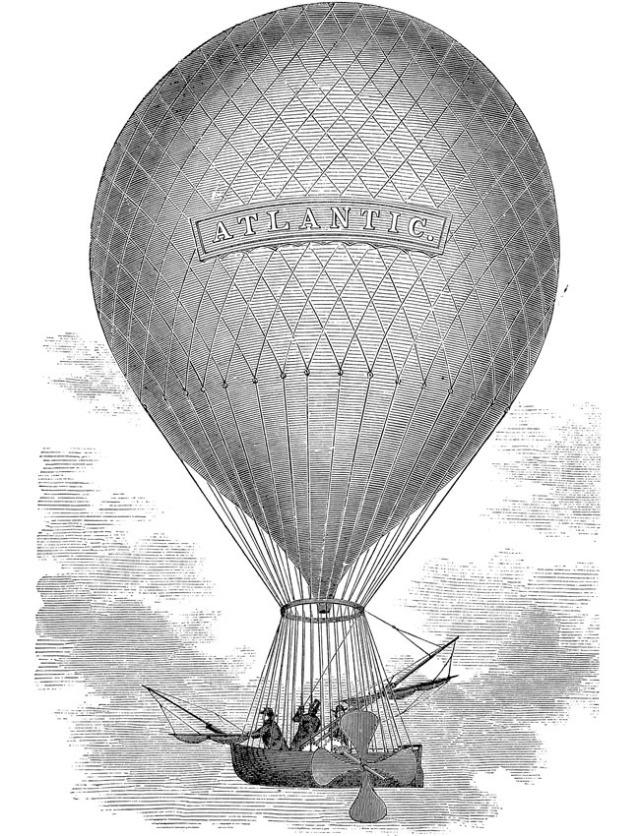 Steampunk Hot Air Ballon