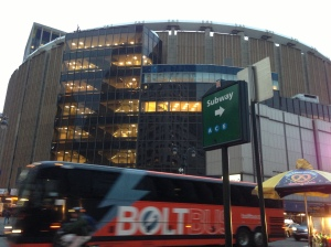 Madison Square Garden/Penn Station