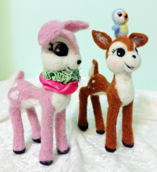 Oh Deer! Just Listed a Pink Deer on Etsy...